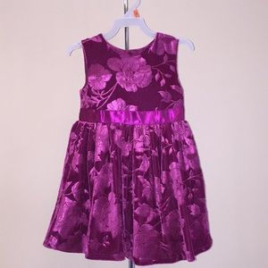 Toddler Girls George Holiday Formal Party Dress 3T